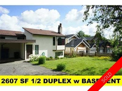 Forest Glen BS Duplex for sale:  7 bedroom 2,607 sq.ft. (Listed 2020-02-27)